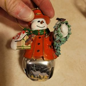 NWT Thomas Kinkade Christmas Ornament